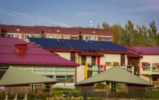 Lielākā saules kolektoru sistēma Vidzemē