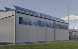Lielākā plakano saules kolektoru sistēma Baltijā