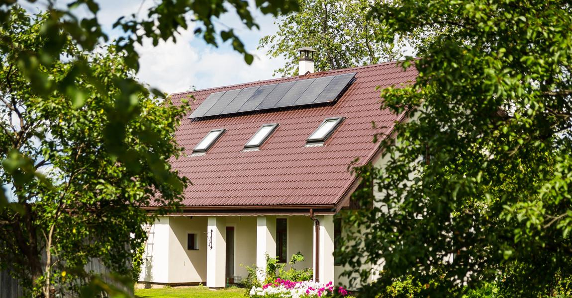Saules bateriju sistēma Dundagas novadā